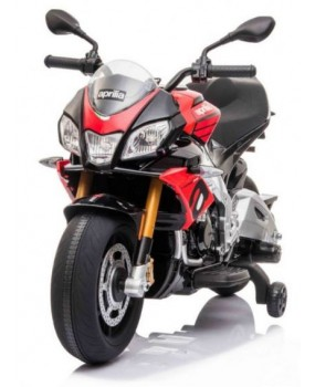 Elektrická motorka Aprilia Tuono V4 červená